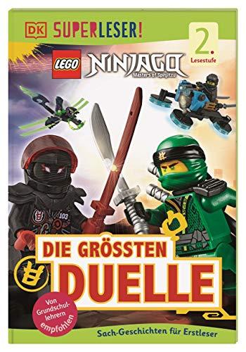 SUPERLESER! LEGO® NINJAGO® Die größten Duelle: Sach-Geschichten für Erstleser, 2. Lesestufe