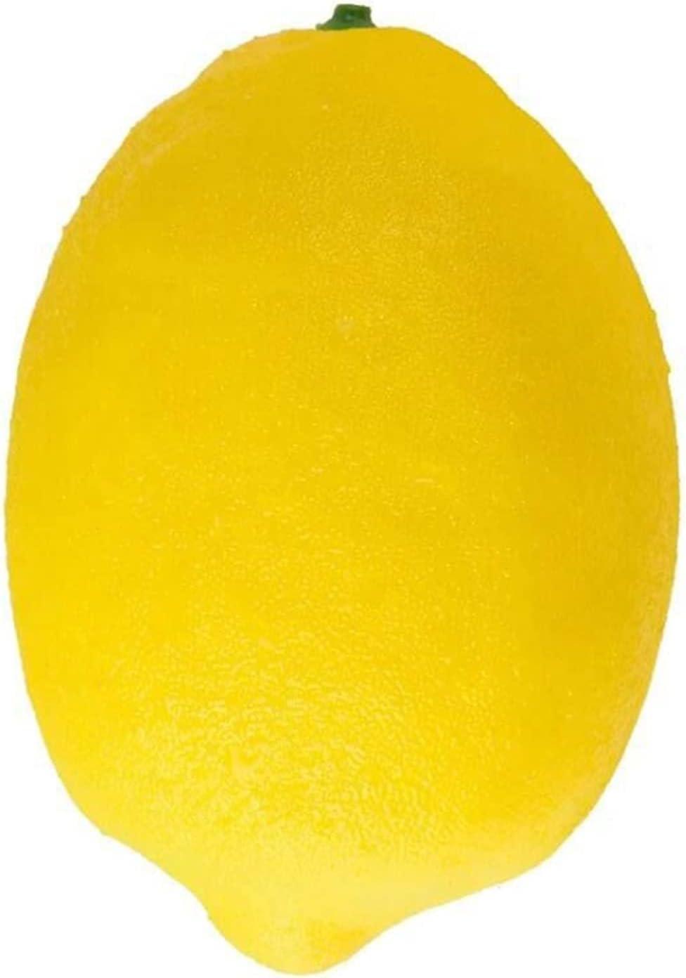 JSJJEDC Artificial Fruit Lifelike Lemon Max 53% OFF Fake Charlotte Mall Im