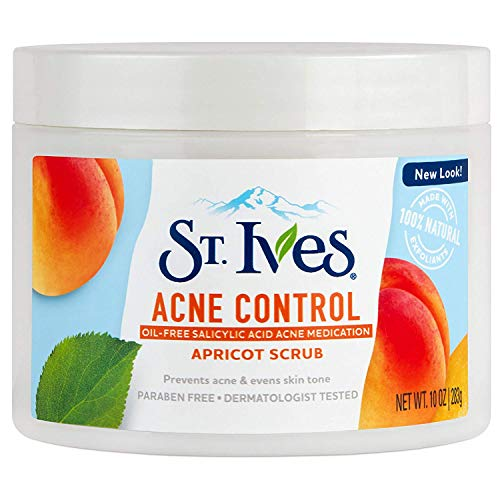 St Ives Blemish Control Apricot Scrub 10 Oz (3 Pack)