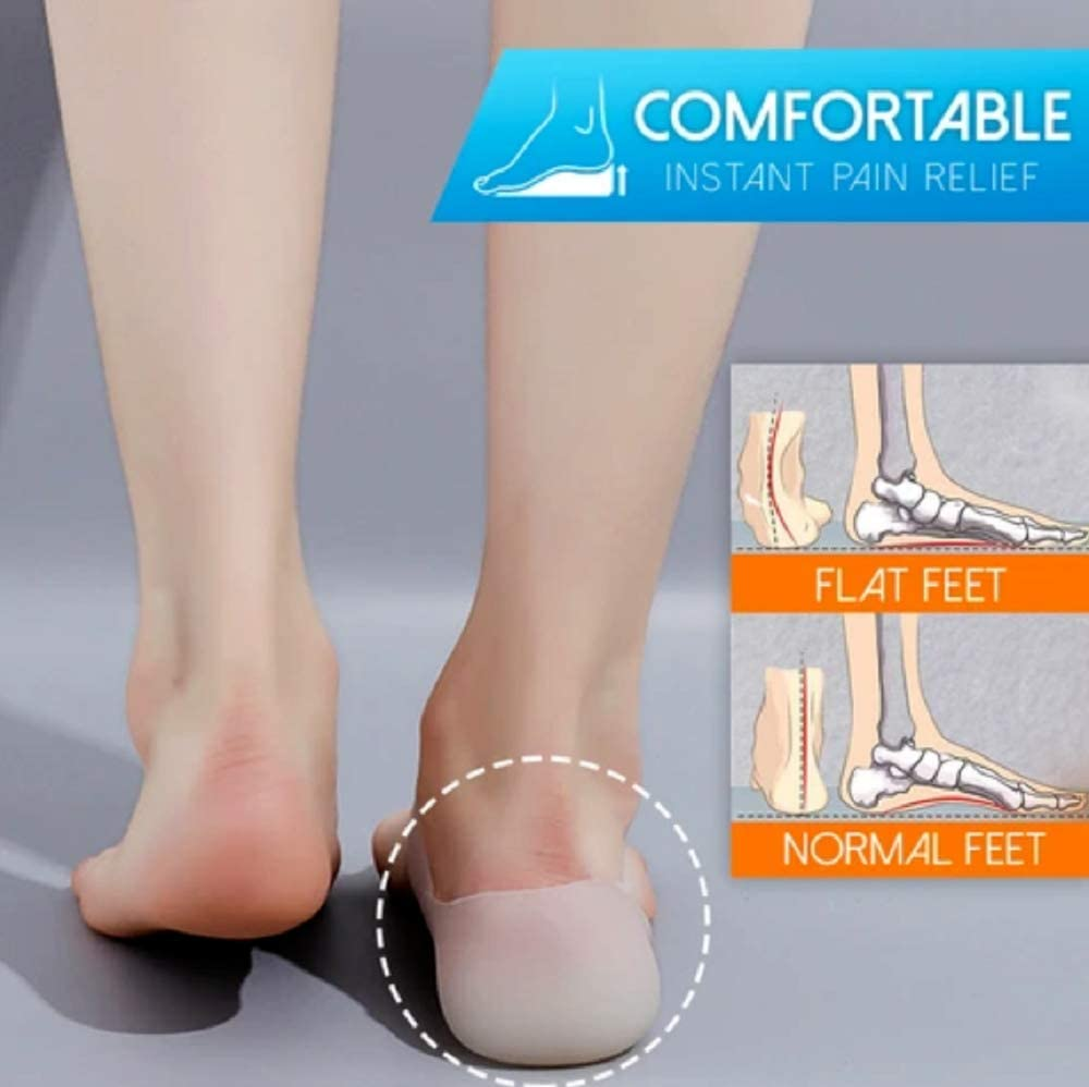 Concealed Footbed Enhancers,Breathable Comfort Invisible Height Increase Insole for Men /& Women