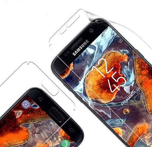 Vkaiy Schutzfolie für Samsung Galaxy S7 Edge, [3 Stück] Premium TPU Folie KEIN Glas, Vollständige Abdeckung, Ultra-klare Transparenz Folie Displayfolie kompatibel mit S7 Edge
