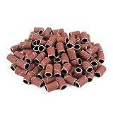 VICSPORT 150 bandas de lijado para manicura y pedicura, para taladro de uñas de manicura y pedicura, bandas de lijado para uñas eléctricas grano 80# 120# 180#