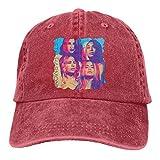 MERCHA Unisex Adjustable Washed Baseball Cap Fifth Harmony Snapback Trucker Hat Red