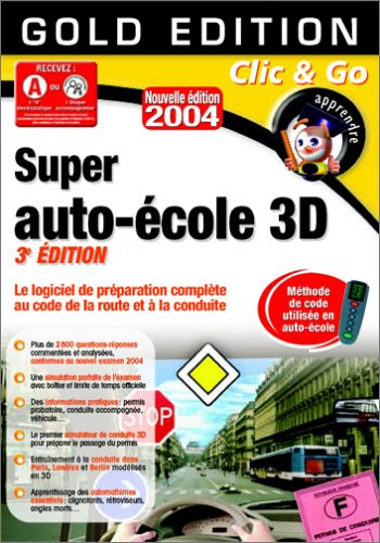 Super auto école 3D 2004 - Ethylotest électronique