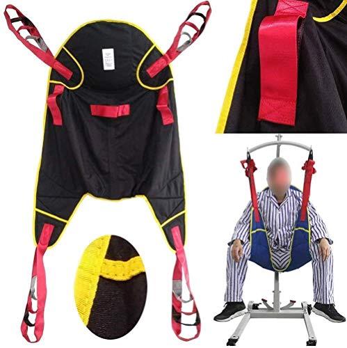 DLLY Toileting Commode Sling Patientenlifter, Medical Lift Equipment Transfer Belt Ohne Kopfpolster Handicap Four Point Sling Ganzkörper Und Bettlägerig