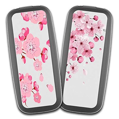 """Cover Nokia 105 2017,Fiore di ciliegio + Fiore di ciliegio Rosa Premium Morbida {Guscio di budino} Silicone Gel TPU Anti-graffio Cellulare Protezione Custodia per Nokia 105 2017 (1,8"""")"""