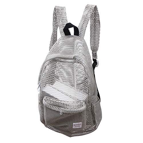 TENDYCOCO Mochila de malla transparente Gmy Sport Travel School Bookbag