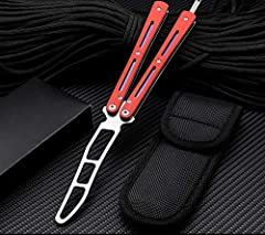 perfect tool for practicing and refining your Flip playing skills and techniques The blade is dull without edge, You can practice without harmful.Tactical Combat Training tool. Bearings connection for handle make it more smooth when playing. G10 mate...