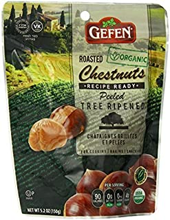 Gefen Whole Chestnuts, Roasted & Peeled, 5.2-Ounces (Pack of 12)