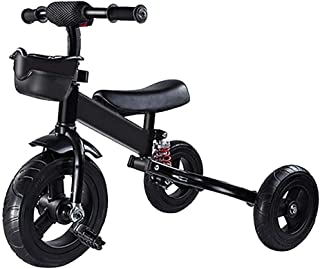 Children's tricycle bicycle baby folding bicycle child child pedal bicycle (Color : Red) JB-Tong