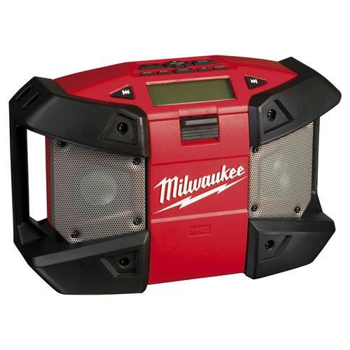 Milwaukee C12 JSR-0 - Radio compacta sin cable (12 V, sin batería ni cargador)
