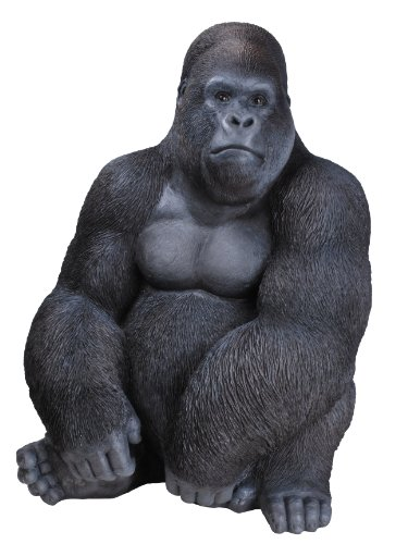 Vivid Arts XRL-GRLS-A Sitting Gorilla Resin Ornament
