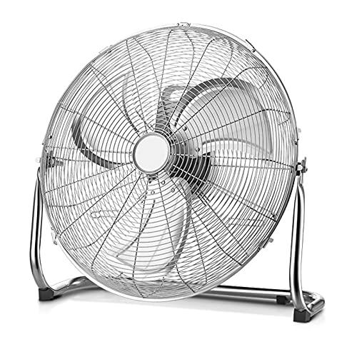 HOUSEHOLD Ventilador Industrial Portátil de Alta Velocidad de 10/12 Pulgadas y Ventilador de Piso Doméstico, para Uso Doméstico, Comercial, Residencial e Invernadero