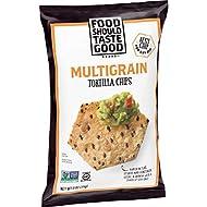 Food Should Taste Good, Multigrain Tortilla Chips, Gluten Free, 11 oz