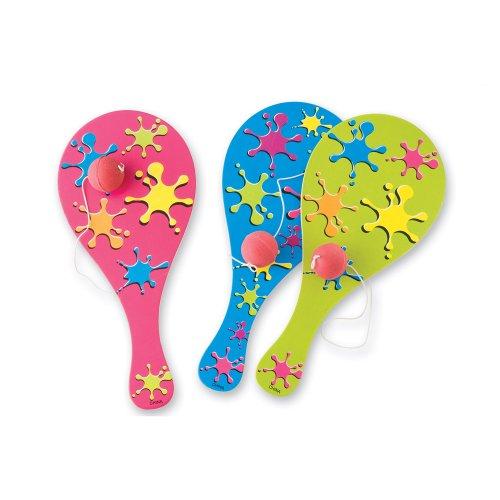 SmileMakers Neon Paint Paddleballs - 24 per Pack
