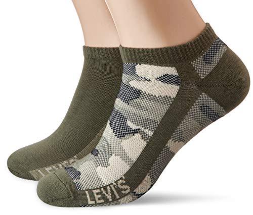 Levi's Levis Low Cut Camo 2p Calcetines, (Pack de 2) para Hombre