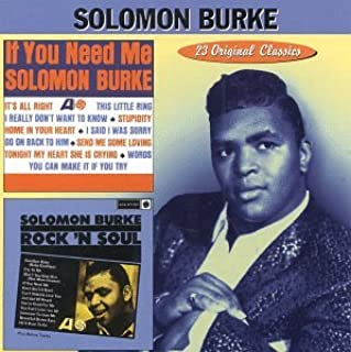 Best solomon burke if you need me Reviews