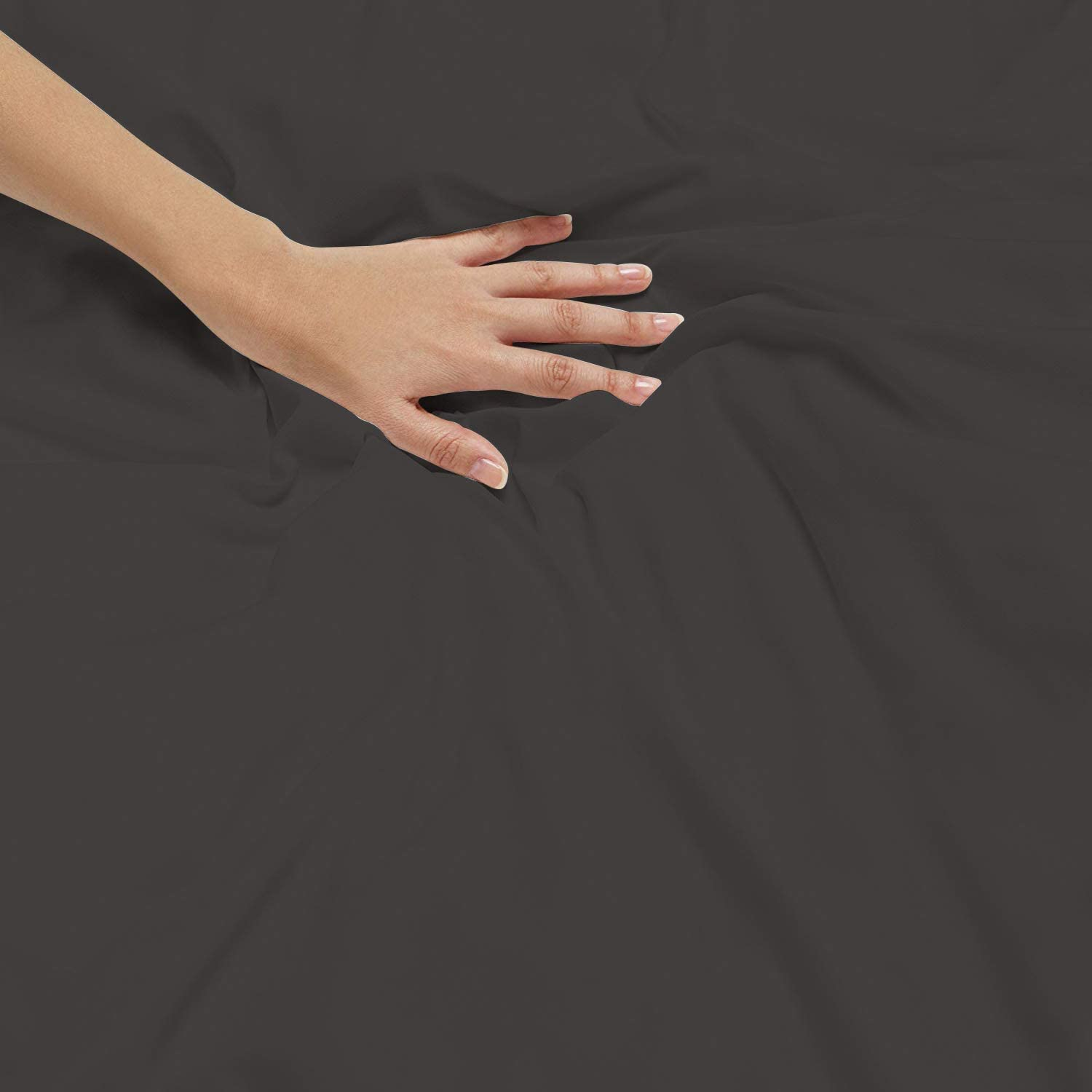 Black Solid Mooveit Luxury 800 Thread Count 100/% Egyptian Cotton Full//Queen 90x90 Size 1-Piece Duvet Cover Zipper Closer /& Corner Ties Breathable /& Soft- Durable and Fade Resistant