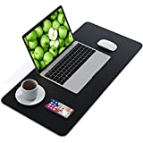 WKX Dual Sided Desk Pad,Office Desk Mat,...