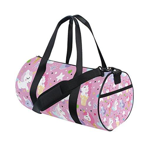 jstel Unicorn Pony–Bolsa de hielo Deportes Gimnasio para hombres y mujeres bolsa de viaje de viaje