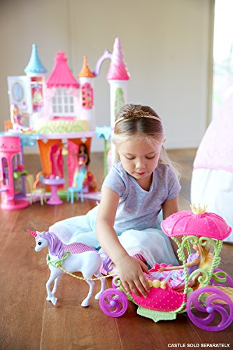 Princesse Barbie et sa Calèche Licorne Dreamtopia - 2