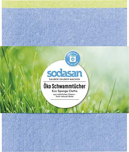 Sodasan Bio Öko Schwammtücher (6 x 2 Stk)