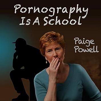 Pornography Is a School