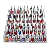 Organizador de esmalte uñas 6 niveles con tornillos de plástico - Soporte de esmalte uñas...