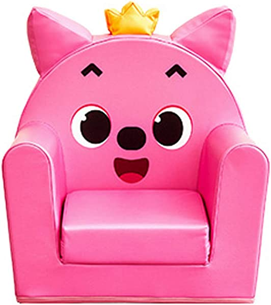 ALZIP Mat Children S 2 In 1 Flip Open Foam Sofa Kids Sofa Support Seat Baby Safety Melody Sofa All Ages 23 6 X 21 6 X 16 5 Pink PINKFONG