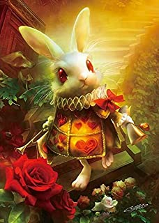 108 piece jigsaw puzzle SHU redo Rabbit Alice in Wonderland (18.2x25.7cm)