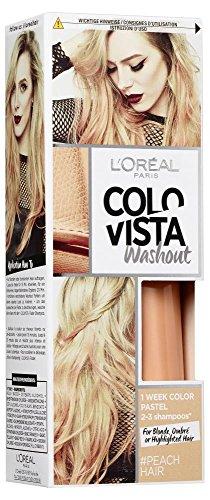 L'Oréal Paris Colovista 2-Week Washout #PEACHHAIR, Haarfarbe, auswaschbar nach 2-3 Haarwäschen, pfirsichfarben, #DOITYOURWAY