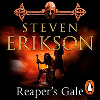 Reaper's Gale     The Malazan Book of the Fallen 7              Auteur(s):                                                                                                                                 Steven Erikson                               Narrateur(s):                                                                                                                                 Michael Page                      Durée: 43 h et 56 min     1 évaluation     Au global 4,0
