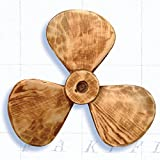 HS Decorative Nautical Wooden Propeller