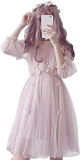 Japanese Lolita Dresses, Sexy Sweet 2 Piece Sets A-Line Flowers Princess Party Dress