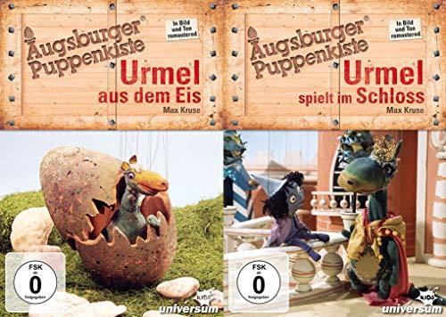 Urmel aus dem Eis + Urmel spielt im Schloss - Augsburger Puppenkiste - Set Kollektion (2 DVDs)