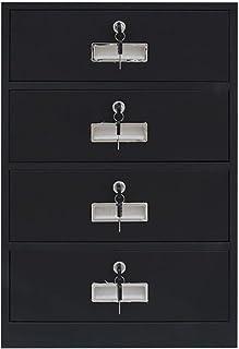 Armoires Acier de Stockage en métal de Stockage d'informations en métal de Bureau de classeur de Seau Quatre avec Le Cabin...