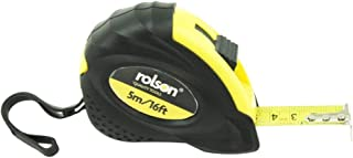 Rolson 50535 Måttband, Svart/gul, 19 mm x 5 m