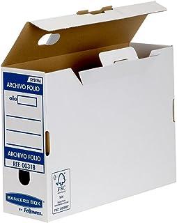 Bankers Box Boîte de classement définitif Montage automatique Format feuillet Tranche 100 mm