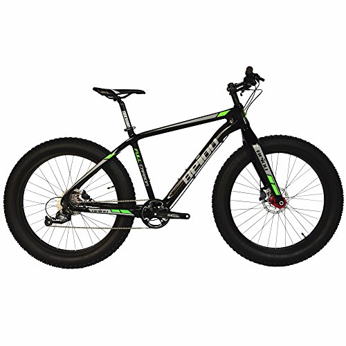 BEIOU 2017 Full Carbon Fat Tire Bicycle Fat Mountain Bike 26 Inch 4.0'...