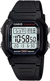 Casio Casual Watch Digital Display Quartz for Men W-800H-1AV