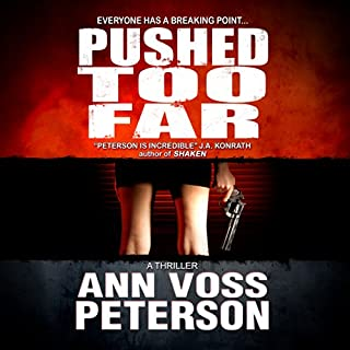 Pushed Too Far audiobook cover art