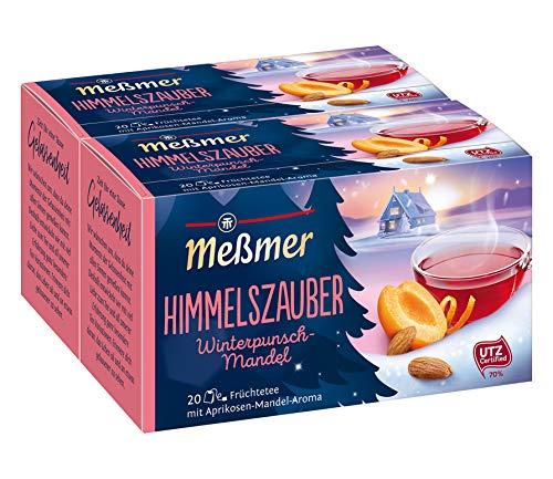 Meßmer Himmelszauber, Winterpunsch/Mandel 20 TB, 2er Pack (2 x 55 g Packung)