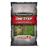 Pennington 100520283 1-Step Complete Seeding Mix for Sun & Shade Areas, 8.3