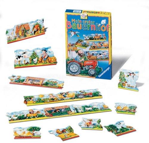 Ravensburger - Mein erster Bauernhof, Legespiel (Kinderspiel)