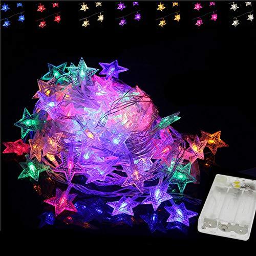 LED-lampen ster met sterren, 2 m, 5 m, 10 m