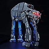 LIGHTAILING Conjunto de Luces (Star Wars First Order Heavy Assault Walker) Modelo de Construcción de Bloques - Kit de luz LED Compatible con Lego 75189(NO Incluido en el Modelo)