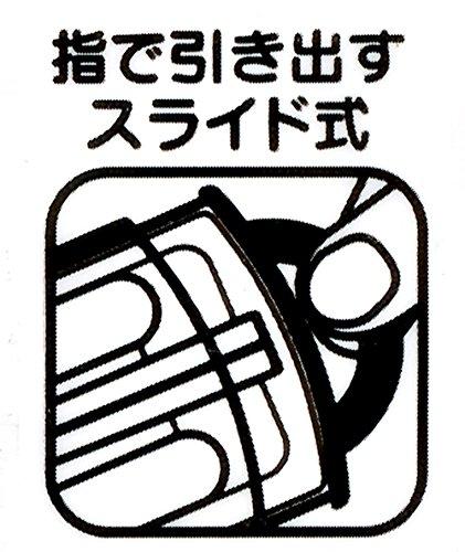 『スケーター 子供用 トリオセット 箸 スプーン フォーク ハローキティギンガムチェック サンリオ 日本製 TCS1AM』の5枚目の画像