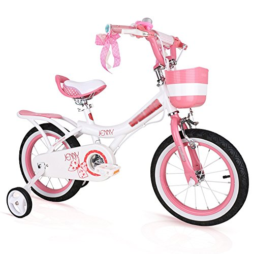 Review WMMING Children's Bicycle Pink, Light Pink, Purple Size 12 Inches, 14 Inches, 16 Inches, 18 I...