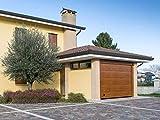 porta per garage sezionale venus (3000x2500mm, quercia dorata)