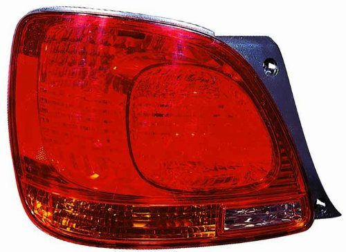 Depo 212-19J1L-AS Lexus GS 300/GS 350/GS 400/GS 430/GS 460 Driver Side Tail Lamp Assembly with Bulb and Socket